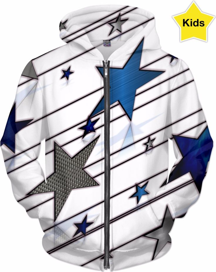 STARS Children's Ultra Premium Double Sided Zip Hoodie:   Your Price: $58.14  Buy Now at https://ensembleorl.com/products/stars-youth-ultra-premium-double-sided-zip-hoodie  Or Shop All Ensemble Departments @ https://ensembleorl.com/pages/shop-all-departments