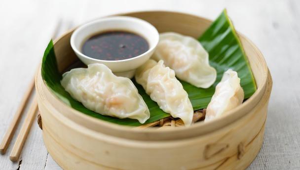 Dumplings met Kip en Shiitakes