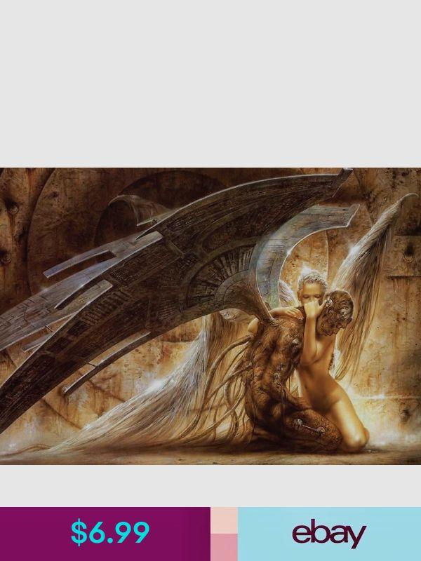 FALLEN ANGEL A3 POSTER ART PRINT YF860