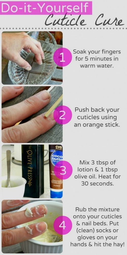 15 best natural nail health images on pinterest beauty tips diy cuticle care the health of your cuticle is directly linked to the health of your entire nail make this amazing diy cuticle treatment with only olive solutioingenieria Gallery