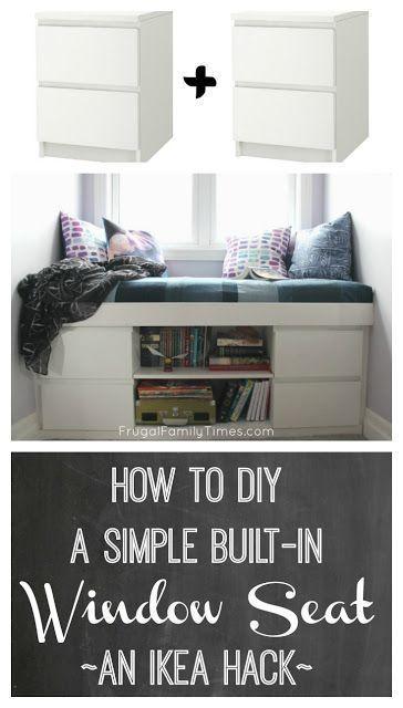 So bauen Sie einen einfachen eingebauten Fenstersi…