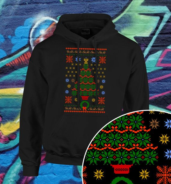 Christmas Ugly Sweater Christmas Tree Ugly by kitschklothing