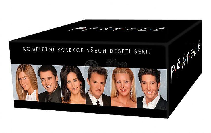 DVD Přátelé KOMPLETNÍ BOX (Sezóny 1-10), TV seriál ve sběratelském boxu.
