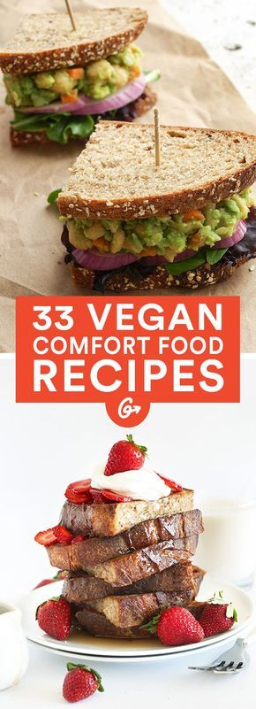 Eliminating meat and dairy from your diet doesn't have to mean eliminating French toast, Caesar... #vegan #comfortfood #recipes http://greatist.com/eat/vegan-comfort-food-recipes