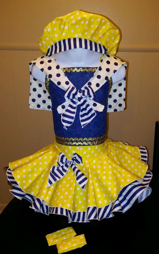 National Pageant Sailor OOC Casual Wear  Size 3-5t #Handmade #DressyEverydayHoliday
