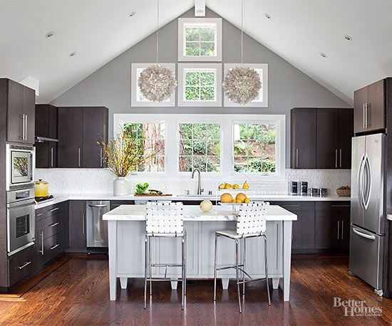 Tear down those walls, and banish kitchen isolation: Open layouts are here to stay. A desire for informal dining and comfortable cooking drives this design trend, supporting a casual yet connected lifestyle.