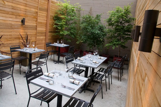 The best hidden patios in the city: Chez Spencer, Spork, Bar Bambino, Starbelly, Park Chow, Contigo, Tipsy Pig, Bin 38, B Star Bar, Sociale, Skool, Arlequin, Zazie