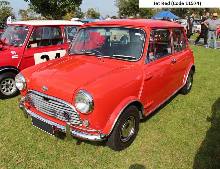 australian mk2 morris cooper s jet red mini. Black Bedroom Furniture Sets. Home Design Ideas