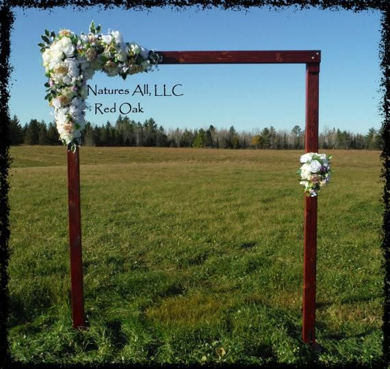 Country Rustic Wedding Altars: Best 20+ Wood Wedding Arches Ideas On Pinterest