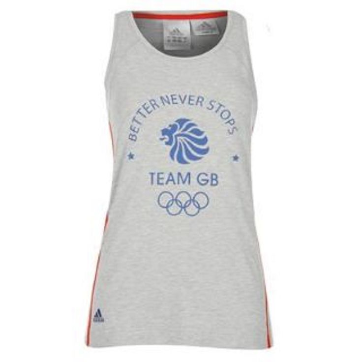 adidas Olympics Team GB Tank / Vest Top for Ladies: adidas Olympics Team GB Tank Top Ladies Womens Sizes 10 12 or 14 83%… #WrekinSportswear
