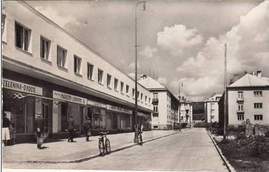 Stará Turá, Štefánikova ulica pri Chirane