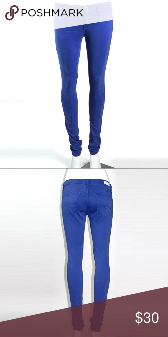 Adriano Goldschmied AG Jeans Blue 26 Slim Ankle No visible flaws Ag Adriano Goldschmied Pants Skinny