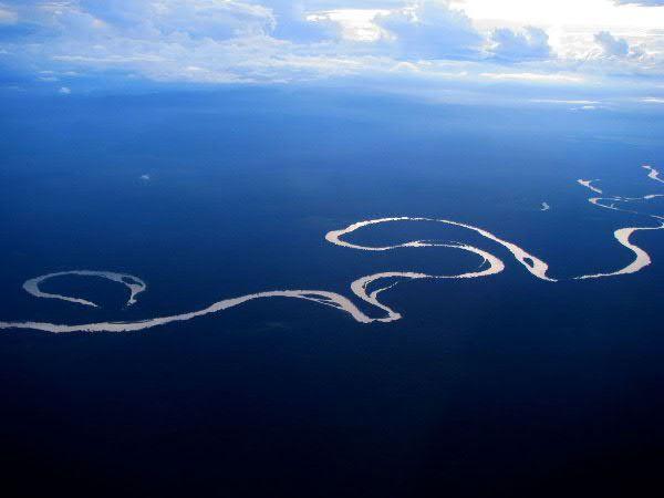 The Sepik River, the longest river on the island of New Guinea. Image via B & H Chapaitis