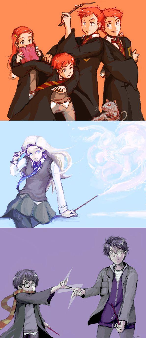 Tumblr Dump - Harry Potter by Chizuri.deviantart.com on @deviantART