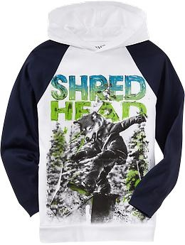 Boys Hooded-Raglan Graphic Tees   Old Navy #ONpinparty #ONkidtacular #oldnavy #skateboardparty