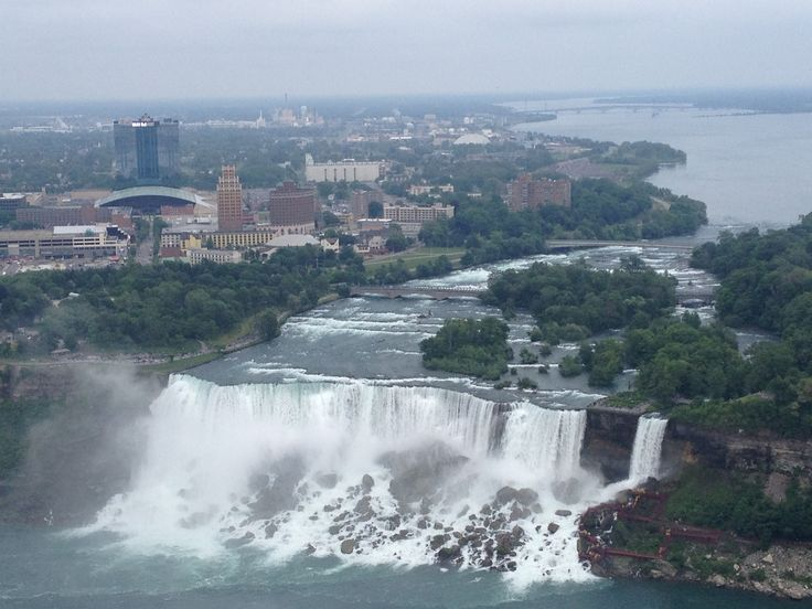 View from Skylon Tower, Niagara Falls, ON