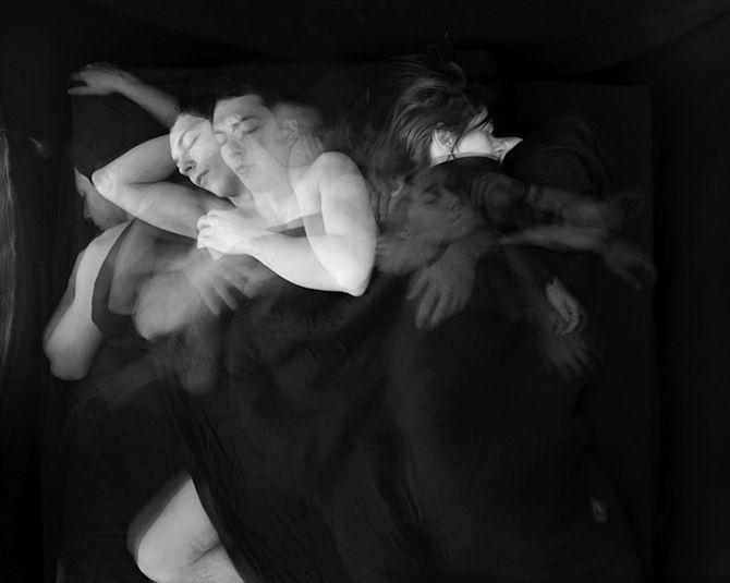 Long Exposures Of Couples Sleeping - Paul Schneggenburger.