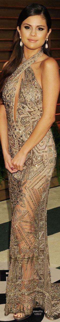 Selena Gomez 2014 Vanity Fair Oscar Party | The House of Beccaria~