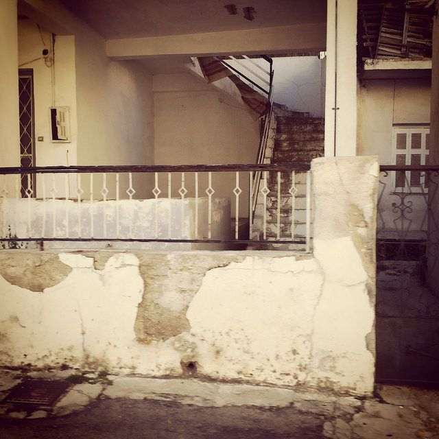 #old #building #stairs #wall #iPhone | by Tryfon Tobias Pliatsikouris