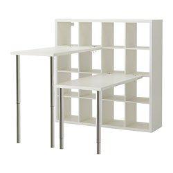 Best 25 kallax desk ideas on pinterest ikea craft room for Bureau kallax ikea