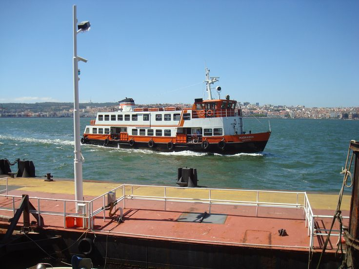 Cacilhas, view over Lisbon