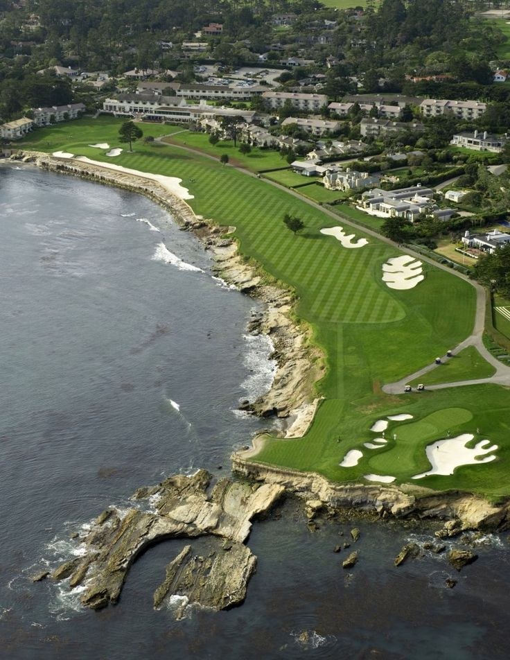 Hole #18 - Pebble Beach Golf Links, Pebble Beach, CA - 543 yards Par 5