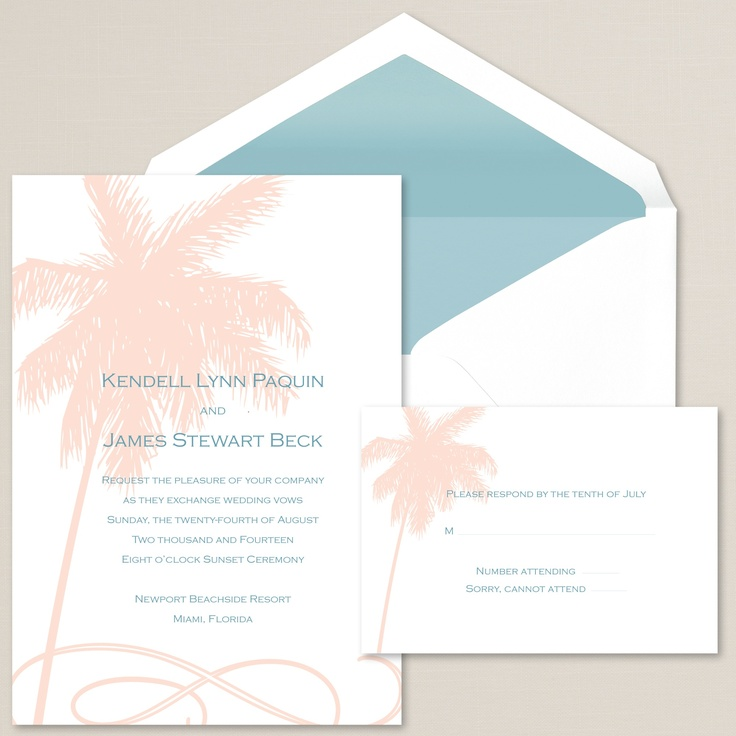 1000+ Images About Beach Wedding Invitations On Pinterest