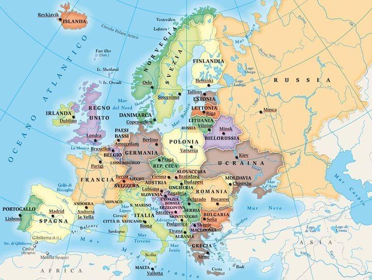 Cartina Muta Creta.Pin Di Filippo Su Carte Geografiche Mappa Europa Geografia