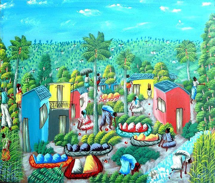 186 best Haitian Paintings - Haitian Art images on ...