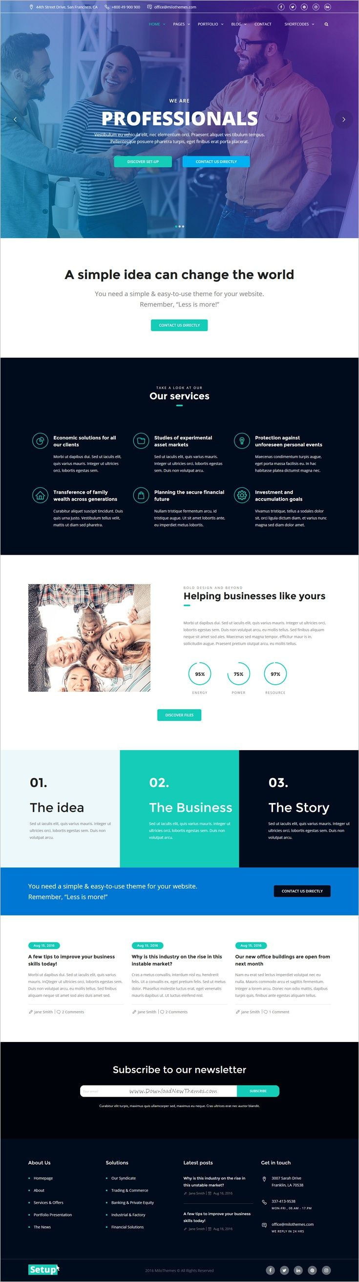 Setup is a perfect modern design 6 in 1 #WordPress theme for #webdesign #Corporate, Finance, Consulting, Banking, Industrial, or a freelance website download now➩ https://themeforest.net/item/setup-highperforming-responsive-modern-wordpress-theme/17699634?ref=Datasata