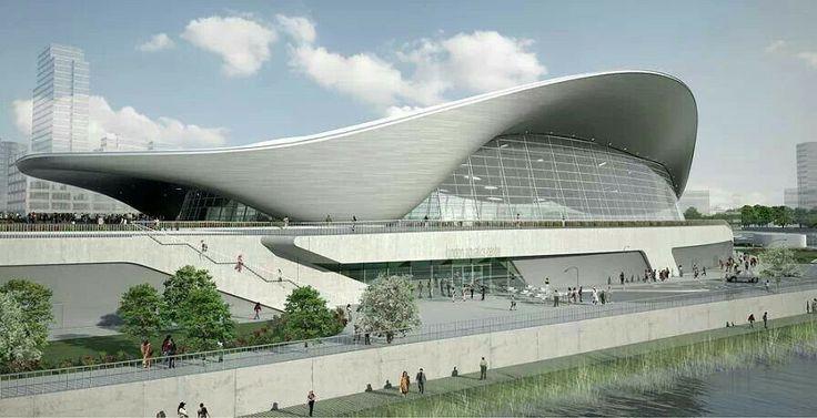 Estadio acuatico olimpico London