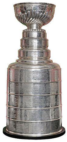 Troféu da Copa Stanley da Liga de Hoquei no Gelo dos EUA.