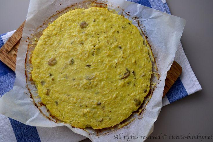 Un secondo piatto semplice e veloce da preparare con il tuo bimby. Leggi la ricetta della frittata con il sedano rapa e i funghi.