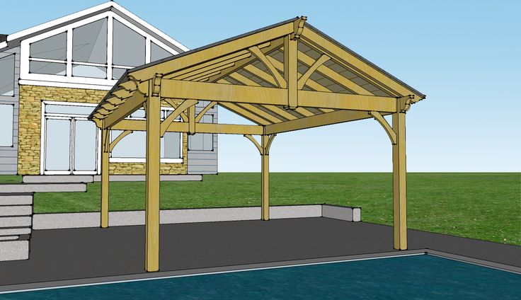 Metal Pavilion Kits : Best images about deck on pinterest table bases free
