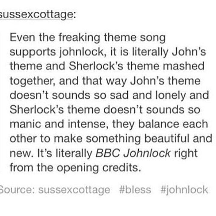Tumblr Sherlock Johnlock