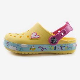 CB Hello Kitty Plane Clog Crocs dětské