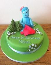 Iggle Piggly Birthday Cake!
