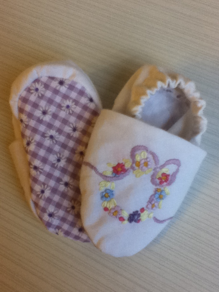 Vintage embriodery shoes