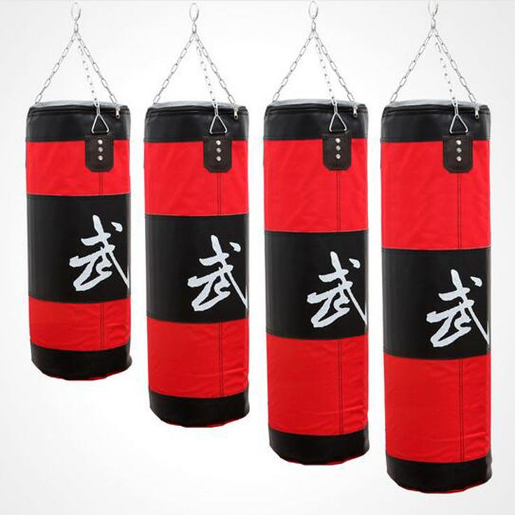 Height 70 cm/100 cm Muay Thai Boxing Sandbag Karate MMA Fight Punching Bag Martial Arts Sanda Training Equipment saco de areia