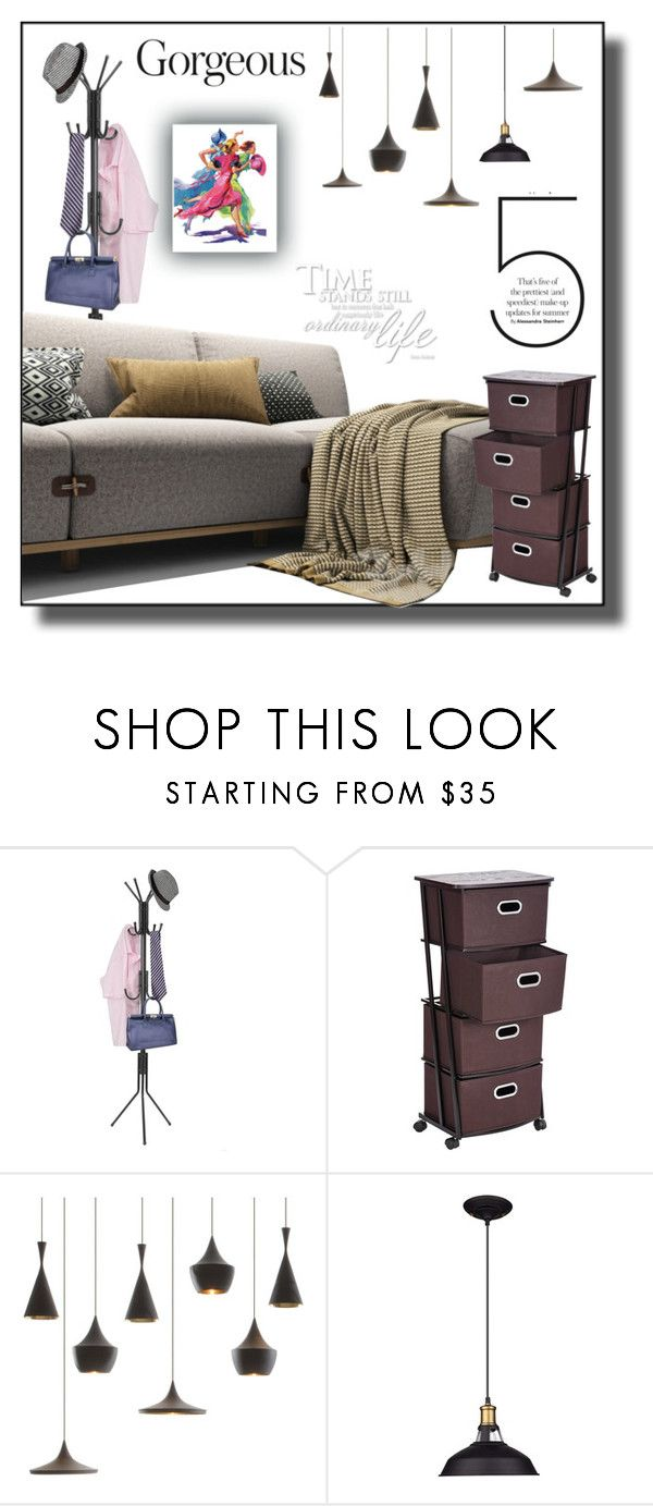 peaceful lfie by ioakleaf on Polyvore featuring interior, interiors, interior design, home, home decor, interior decorating, Tom Dixon and Marmont Hill