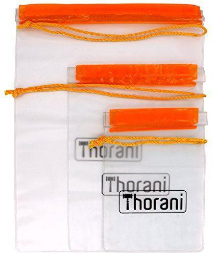 Thorani Dry Bag – Étui / Sac de Rangement et étui de Protection Résistant à L'eau, Léger, Imperméable / Pour Vacances, Voyages, Pêche,…