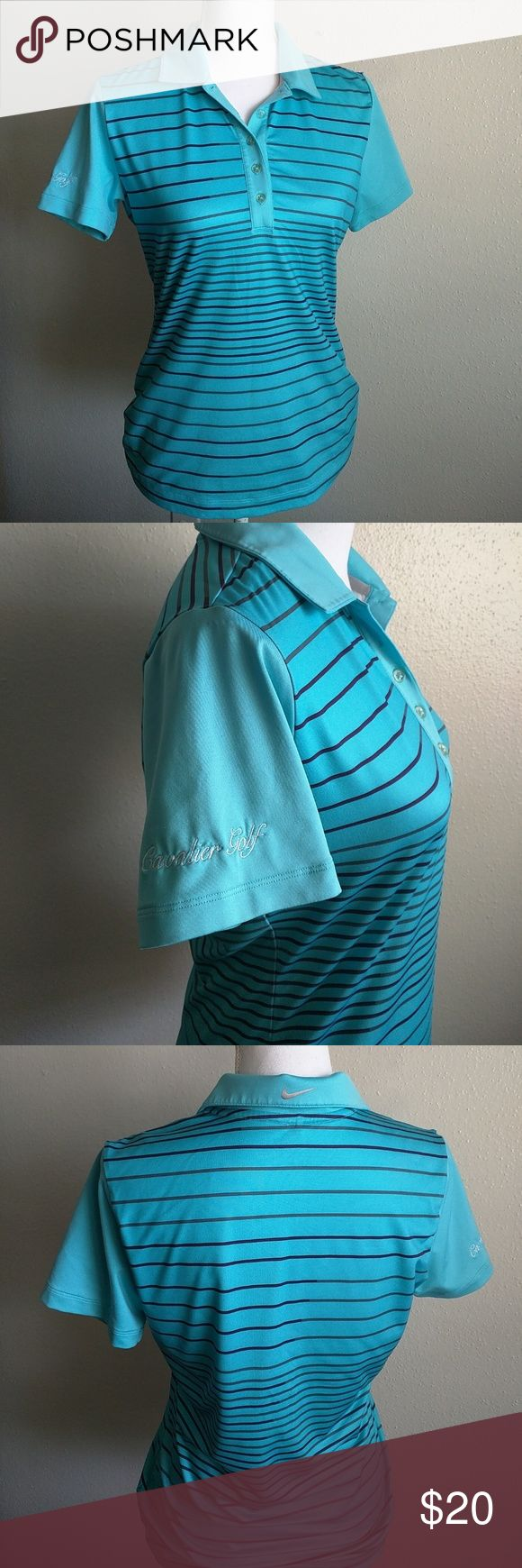 Golf women's shirt like new Like New excellent condition with logo in the sleeve says cavalier golf, if you have any questions please let me know. Nike Tops Tees - Short Sleeve