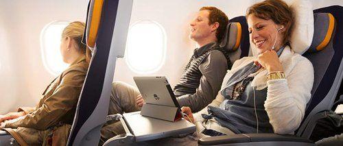La Lufthansa ajoute le Wi-Fi dans ses vols, et c'est cher (Infos-du-Net)