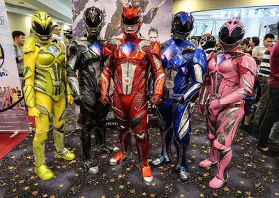power ranger cosplay 2017   MMPR The Movie 2017 - Pinoy Power Rangers Cosplayers Takes The ...