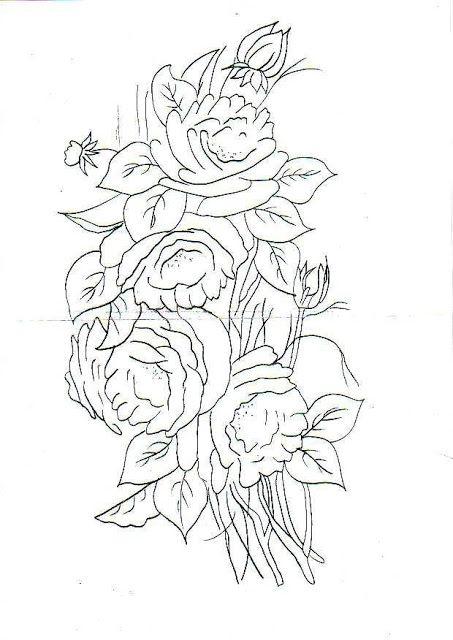 Dibujos y plantillas para imprimir plantillas de dibujos - Patrones para pintar en tela ...