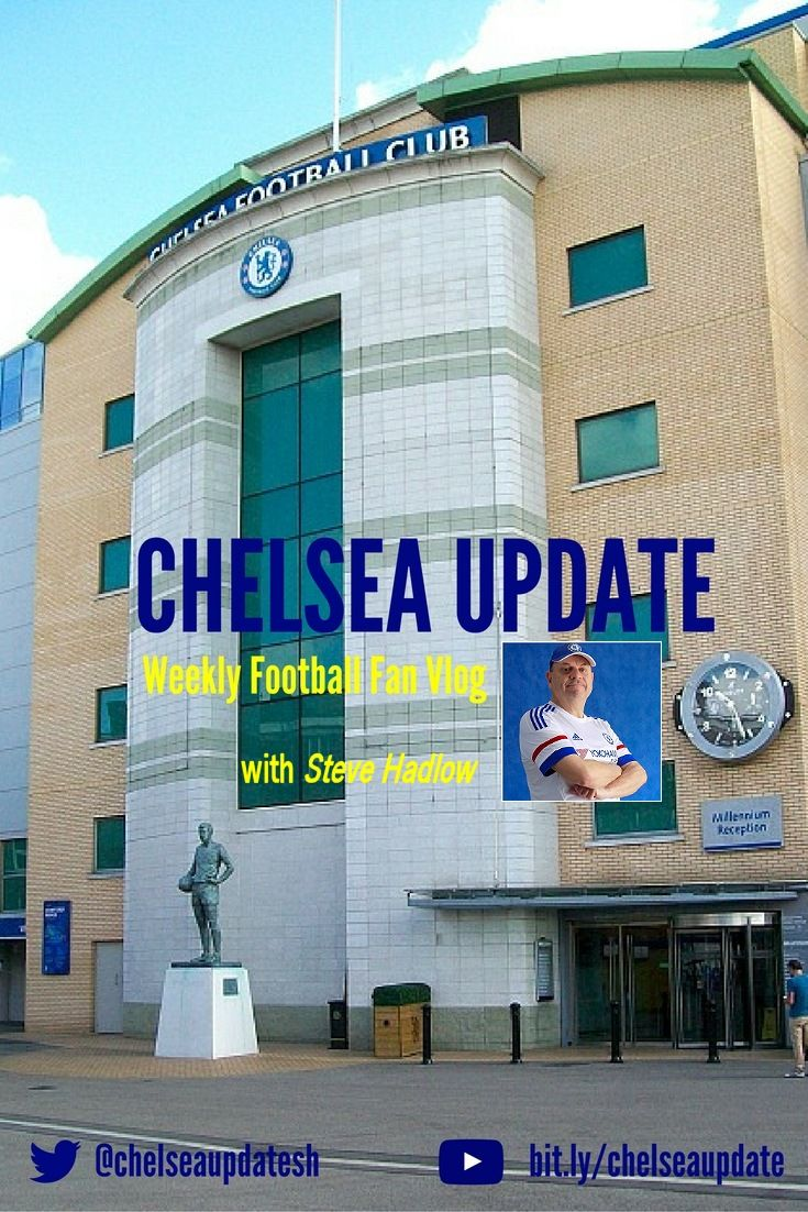 Check out my weekly fan vlog about Chelsea Football Club with results, news & gossip.