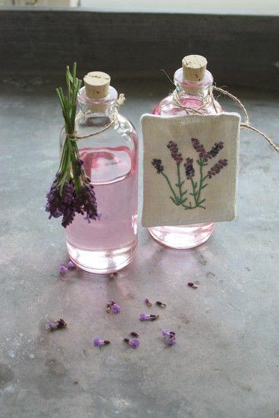 andrella liebt herzen: Lavendelsirup
