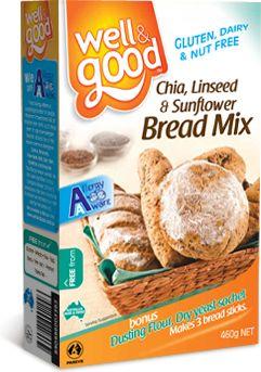 Gluten Free Chia Bread Mix