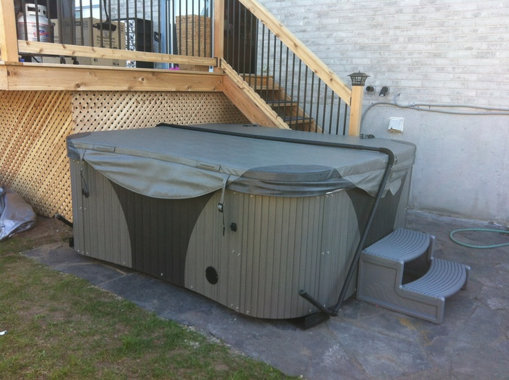 Coyote Spa Durango installed in Angus, ON