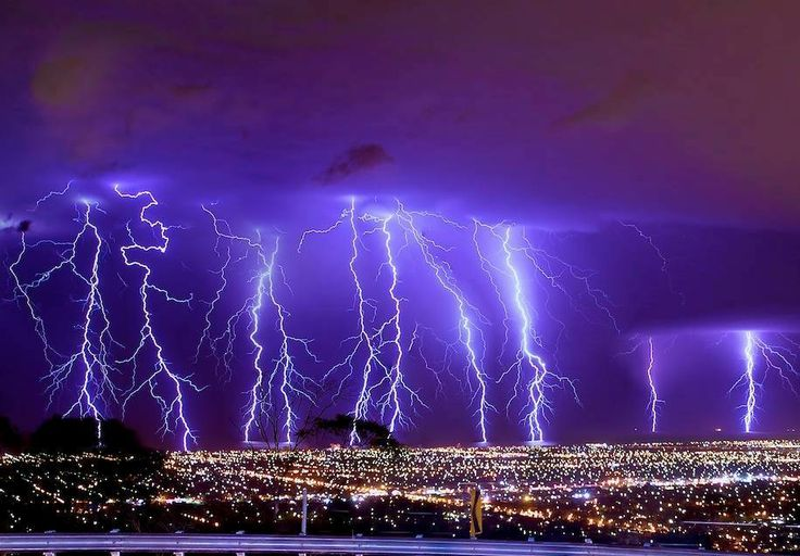 Amazing storm pictures taken from Windy Point in January 2014